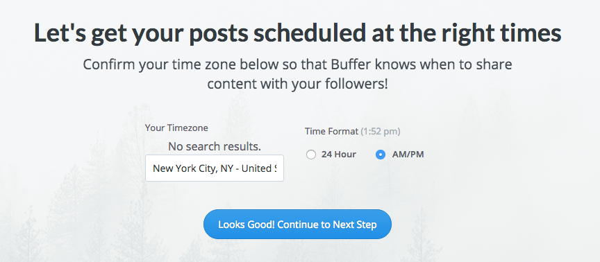 How to add timezone for Buffer