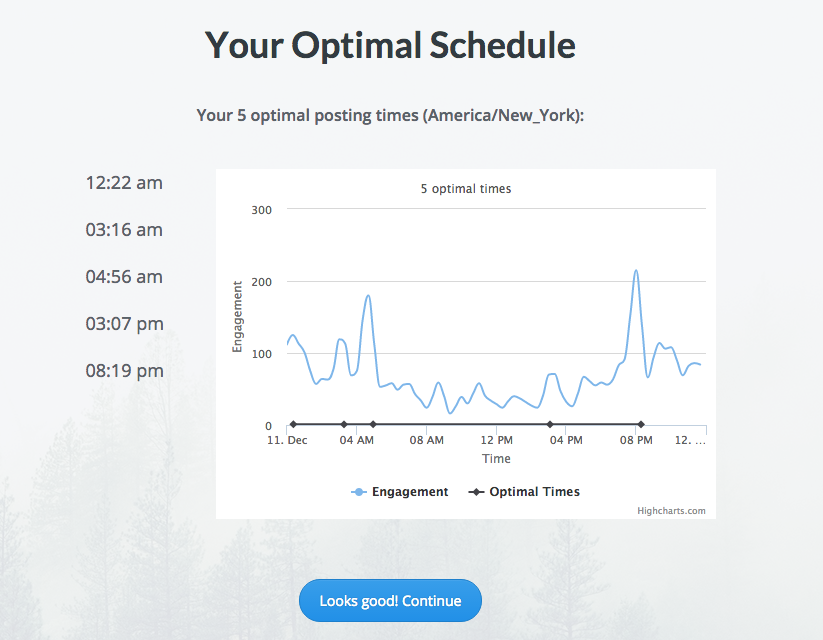 How to create an optimal schedule with Buffer